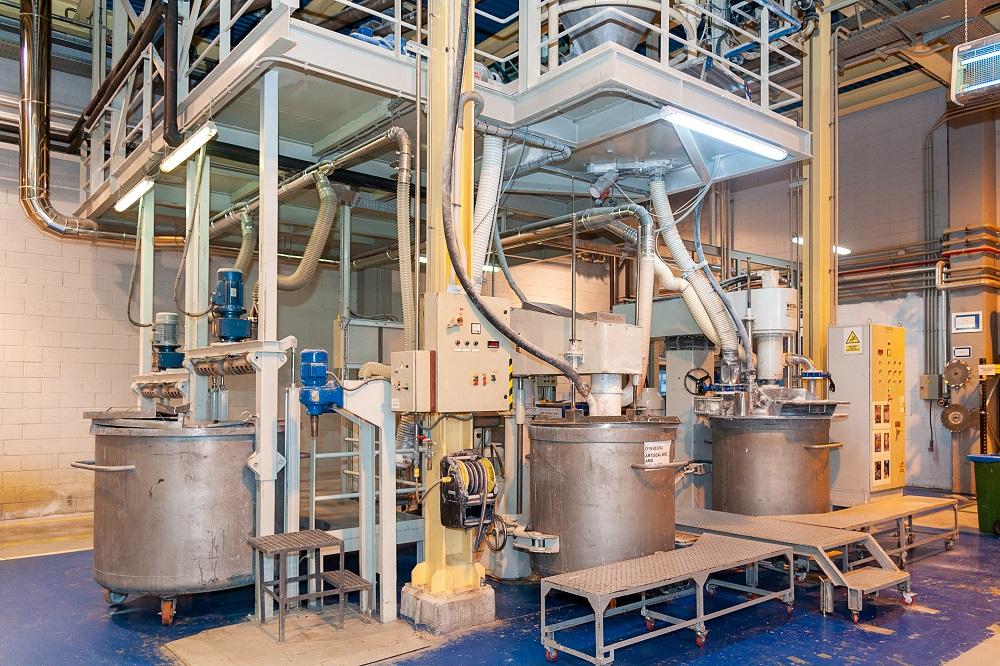 captación de amoniaco en líneas de producción
