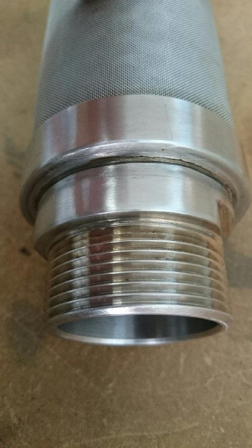diseño y fabricación de filtros de malla metálica en acero inoxidable para filtro de arena