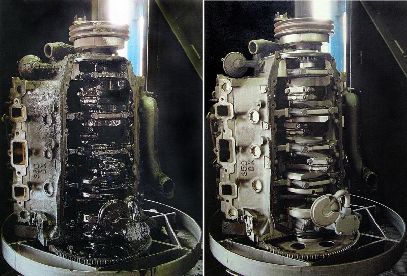 filtros de aceite mantienen el lubricante del motor limpio