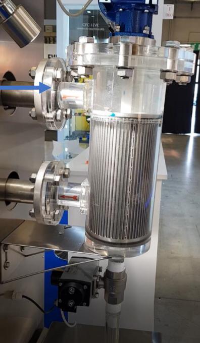 cómo funciona un filtro autolimpiante