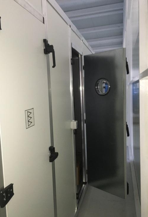Aporte de aire filtrado tipo sala blanca