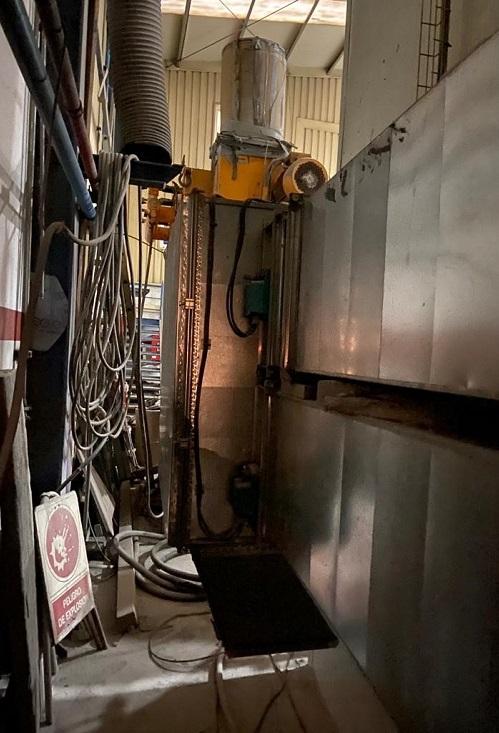 Sustitución de compuertas de apertura y cierre para la captación de polvo en cabina de pintura